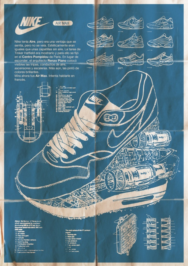 wholesale dealer e521a 09f3f buy nike air max 1 poster
